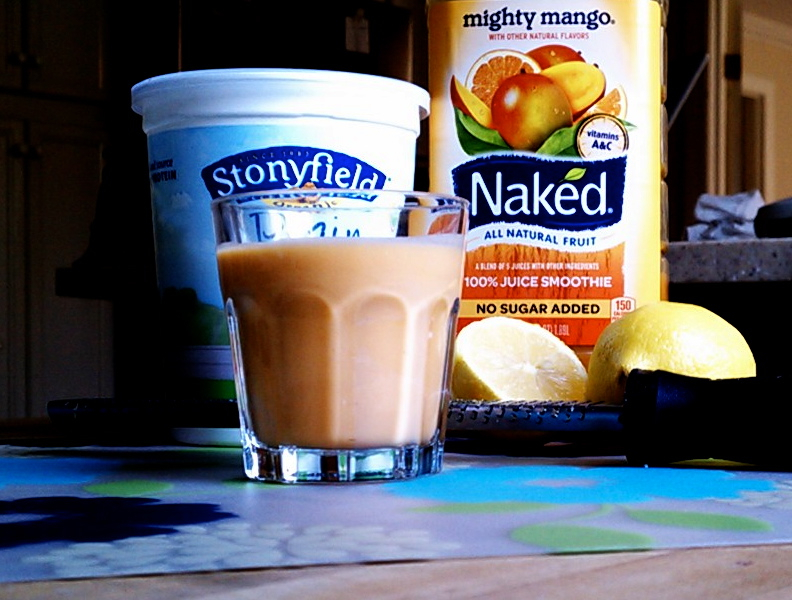 mighty mango naked juice smoothie and yogurt drink