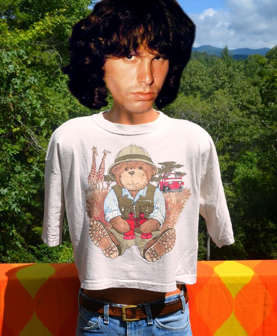 https://www.etsy.com/listing/203745873/80s-vintage-half-t-shirt-safari-teddy