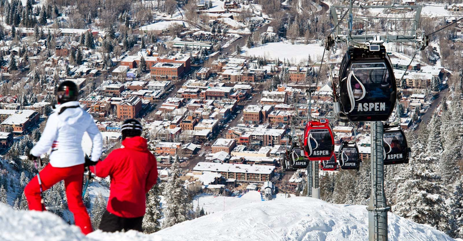 Aspen colorado beautiful ski destination tourist for Best december vacations in usa
