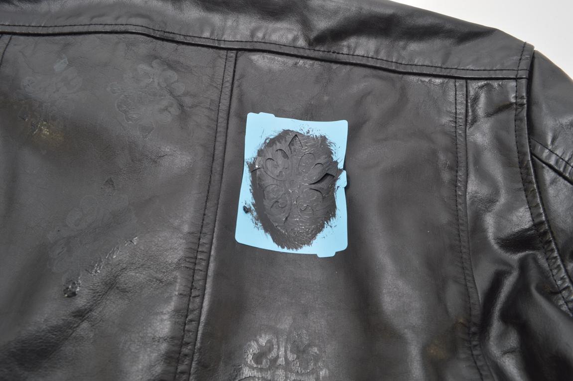 Аппликация на куртку своими руками