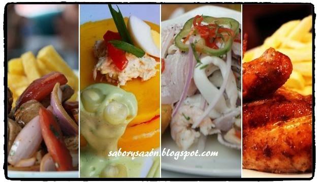 exquisitos platos de nuestra comida peruana
