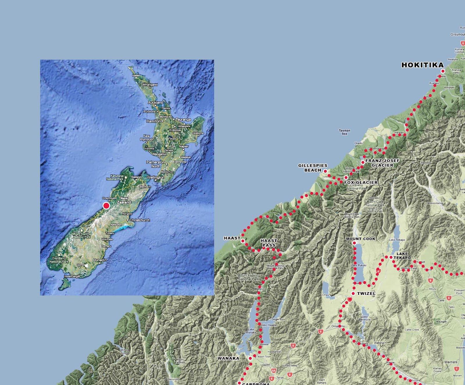 Hokitika New Zealand  city images : the bicycle diaries: Hokitika, New Zealand Green and gold