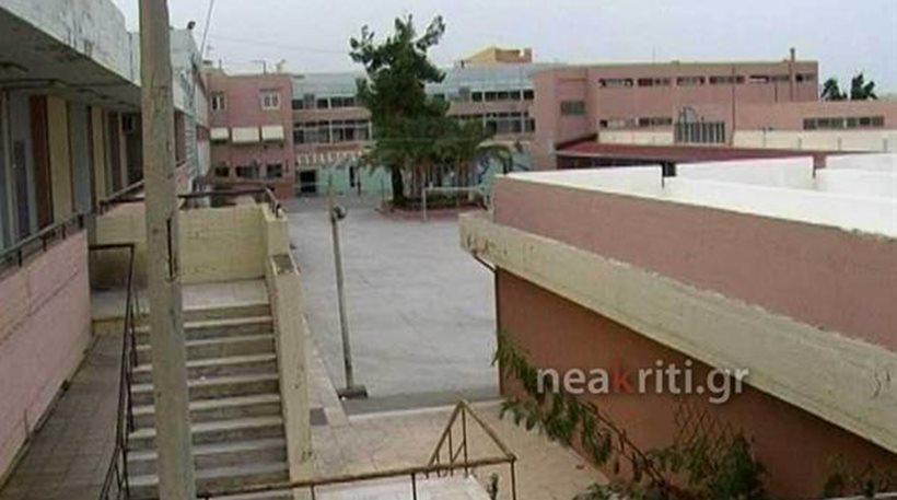 Kρήτη: Εξαγριωμένος μαθητής έστειλε στο νοσοκομείο καθηγητή του