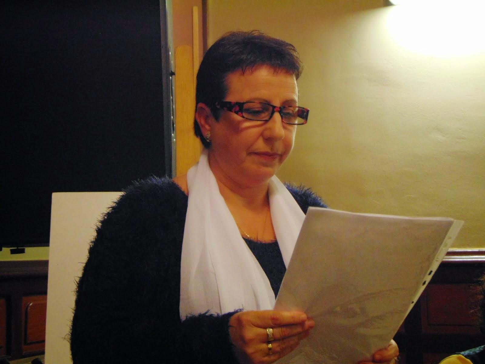 Recitando en el Ateneu de Rubí