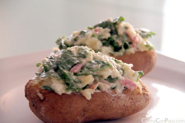 Receta patata rellena