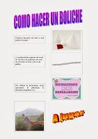 Cómo hacer un boliche