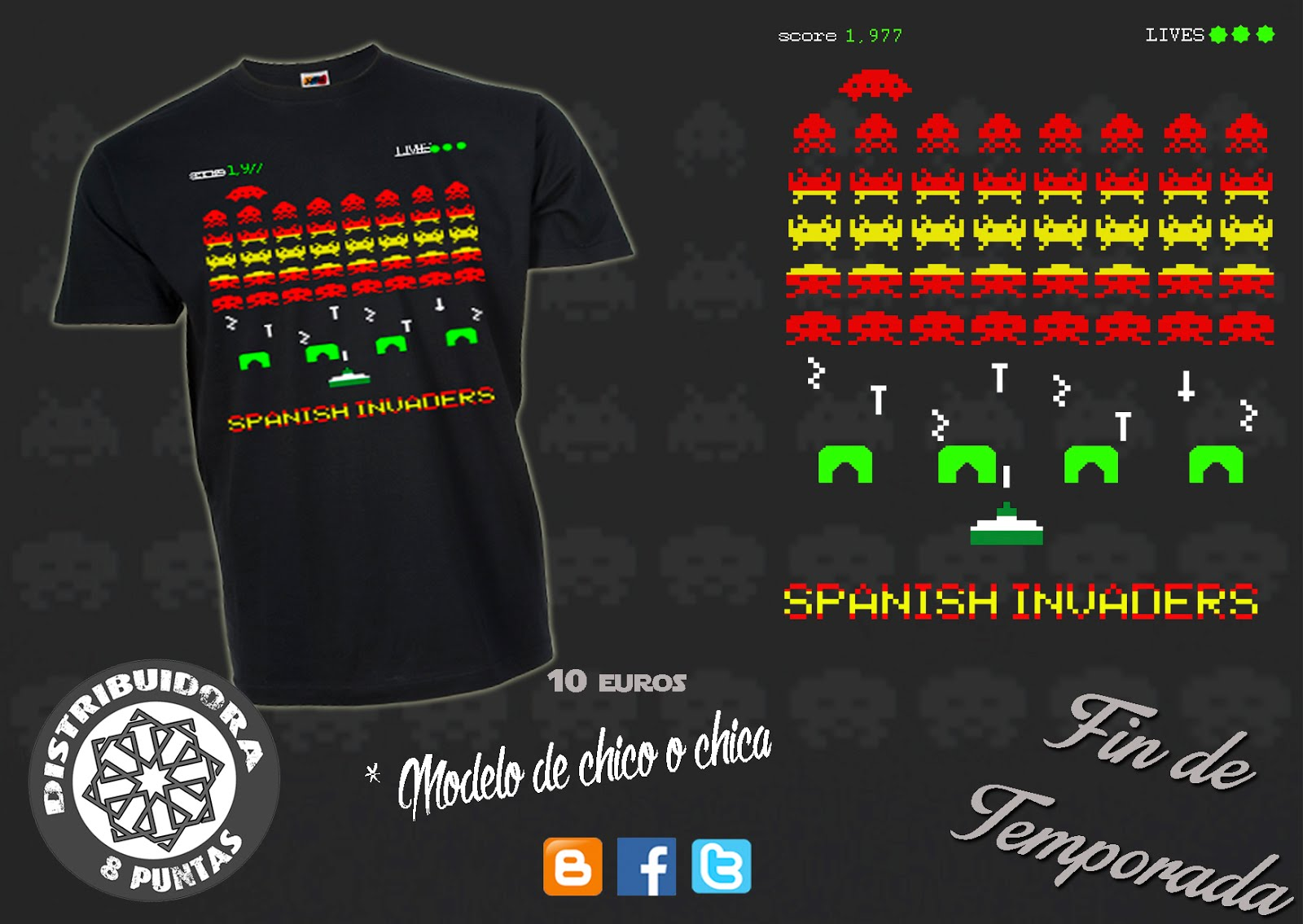 "Modelo ""spanish invaders"""