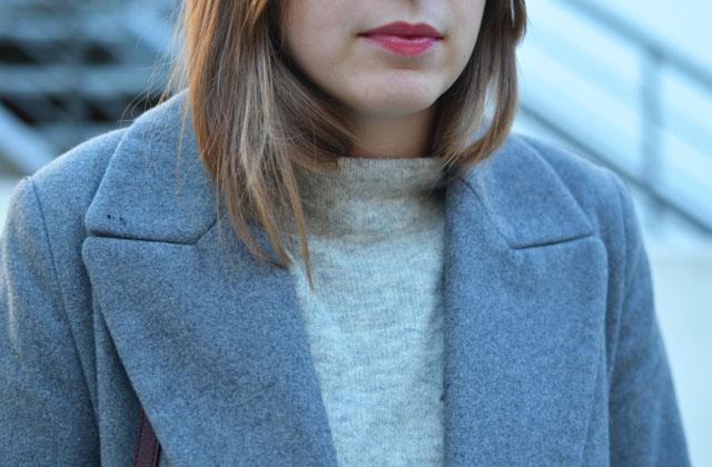 tenue gris femme