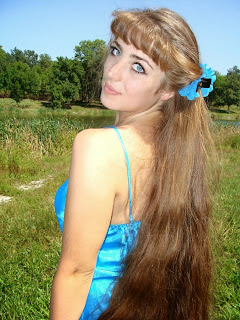 Long Hair Pictures Most Beautiful Girls European Ideal Beauty