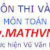 Tai liu n thi vao lp 10 mn Toan theo chuyn  - Vu Vn Bc