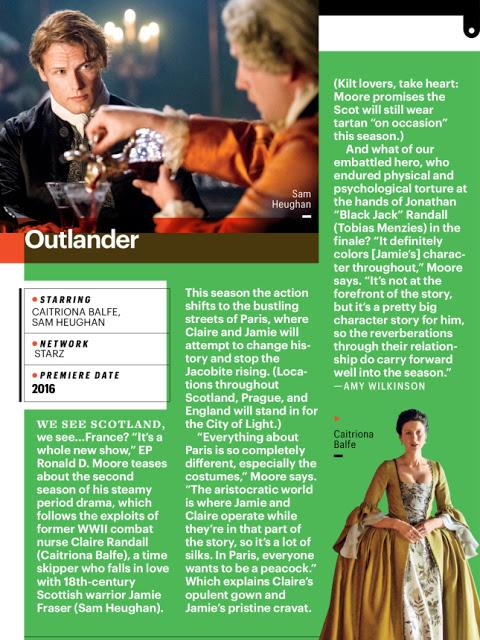 Red dress outlander gag