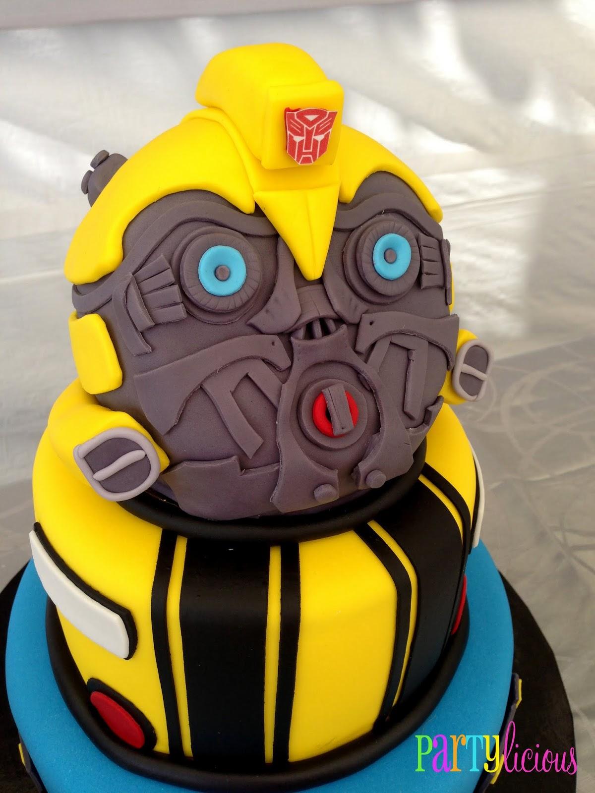 Partylicious Events Pr Transformers Birthday Bash