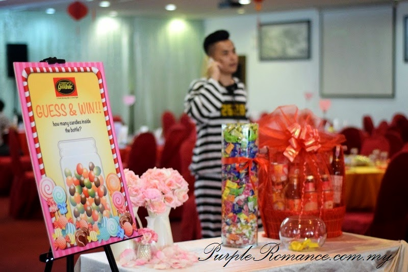 Lucky draw table, decoration, guess and win contest, hamper, CNY, wedding, annual dinner, corporate, kuala lumpur, selangor, klang utama,