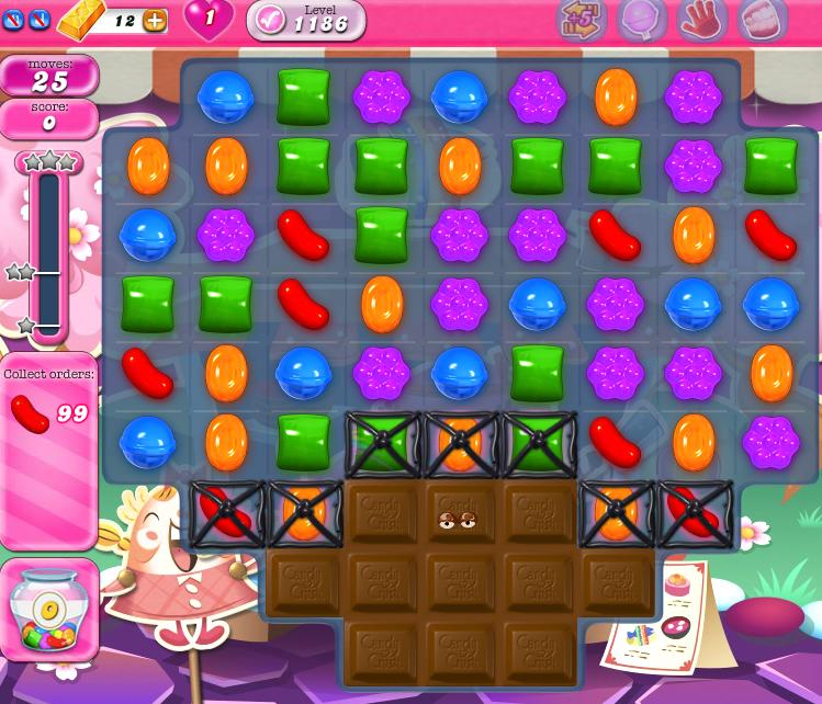 Candy Crush Saga 1186