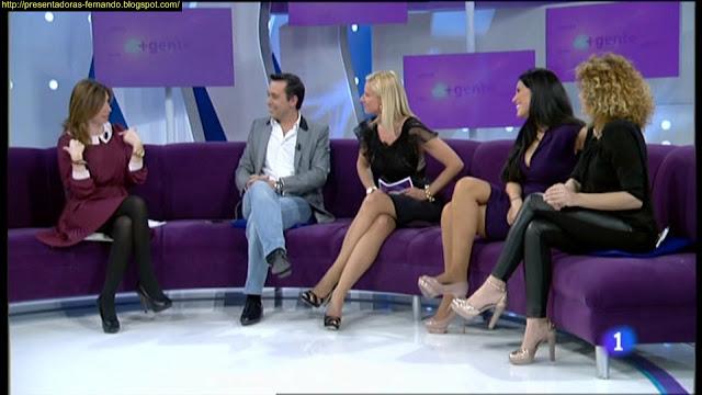 Anne Igartiburu piernas