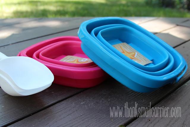 foldable beach bucket