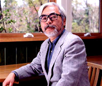 Foto de Hayao Miyazaki, líder do Studio Ghibli