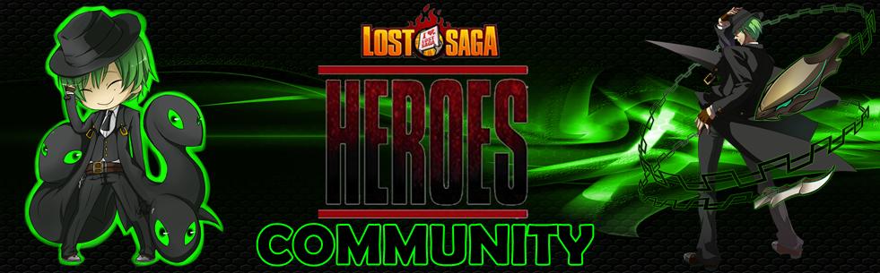 LOST SAGA COMMUNITY