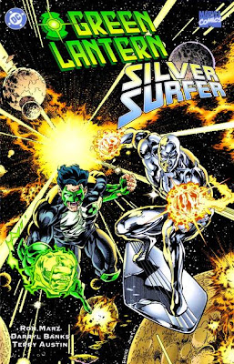 Comic Green Lantern Silver Surfer