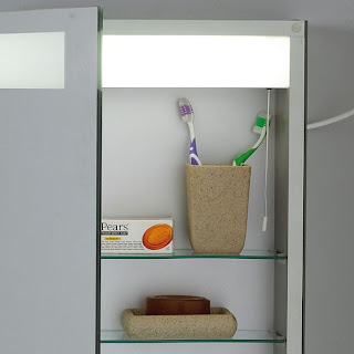 Double-Aluminium-Mirror-Cabinet
