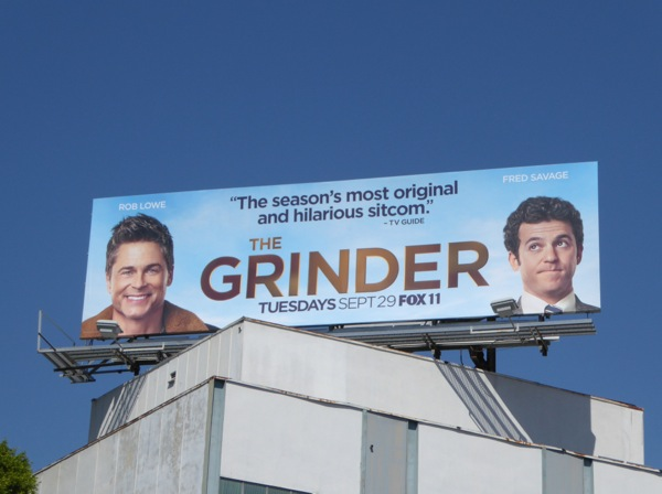 The Grinder season 1 review billboard
