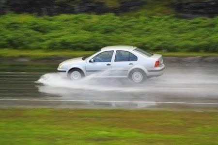 Aquaplaning - Conducción Segura en coche