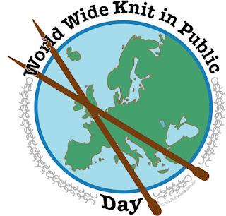 Día Mundial de Tejer en Público, World Widw Knit in Public, #wwkip, Violín Cantarín