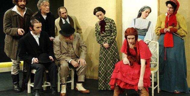 La Comdie Franaise en tourne en Russie avec le Mariage