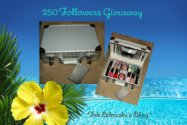 250 Followers Giveaway: WOW!