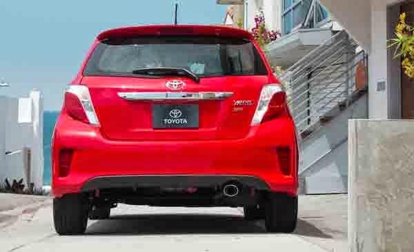 2015 Toyota Yaris SE Release Date