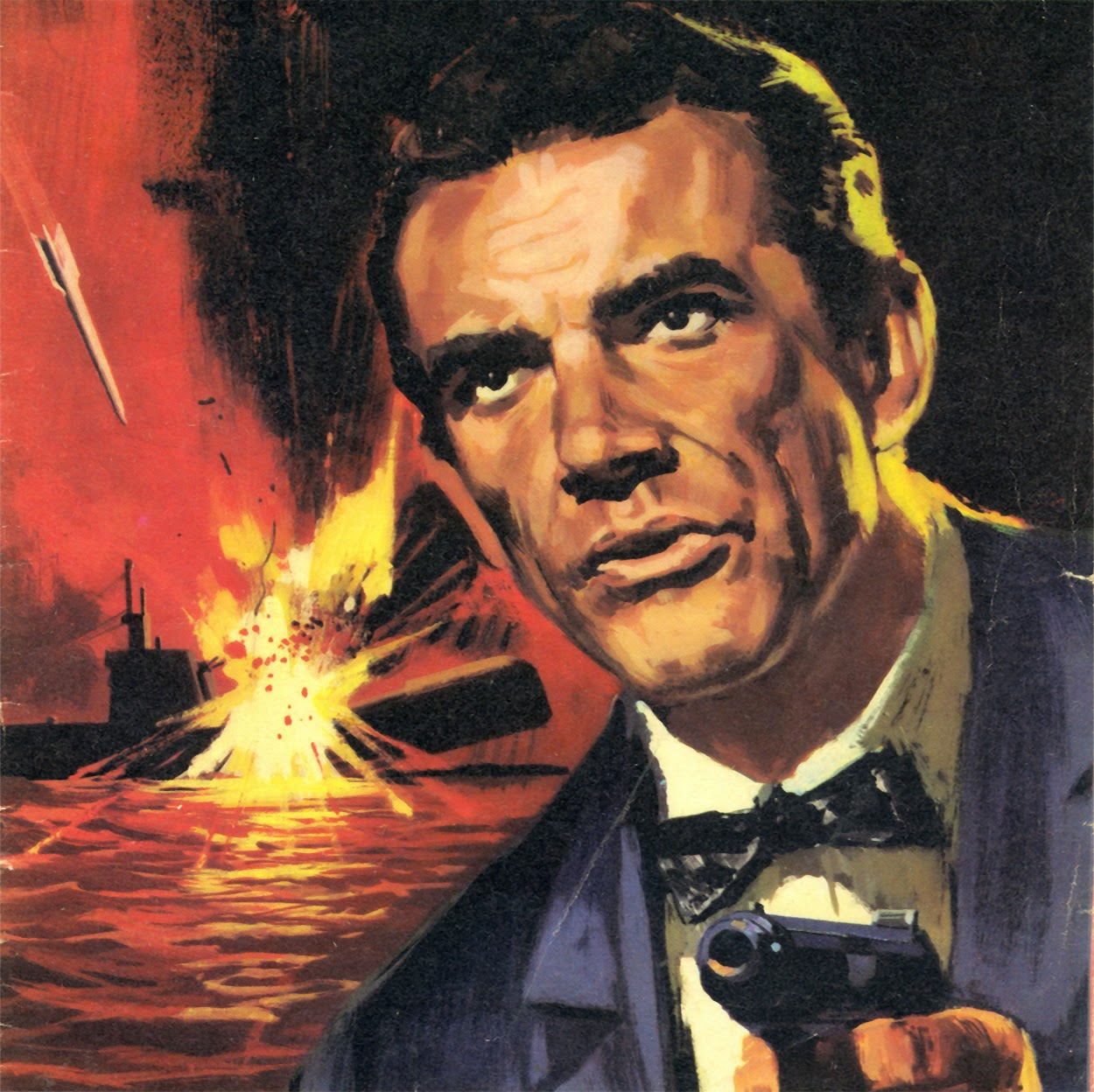 James Bond Book Cover Art : Illustrated the art of james bond march