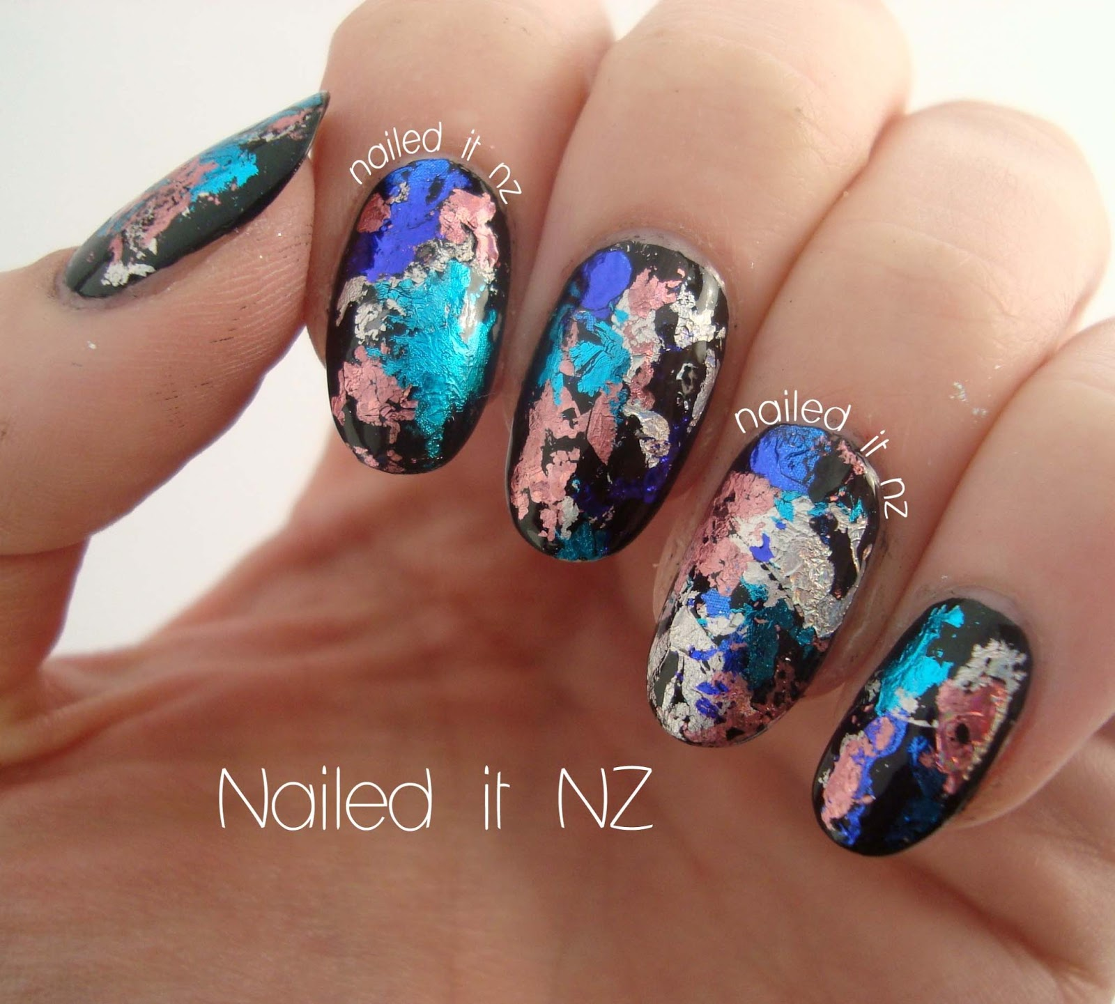 Nail foils review - such an cool effect!