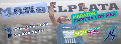Viaje con N7 al Maratón de Mar del Plata (ARG, 26a30/nov/2015)