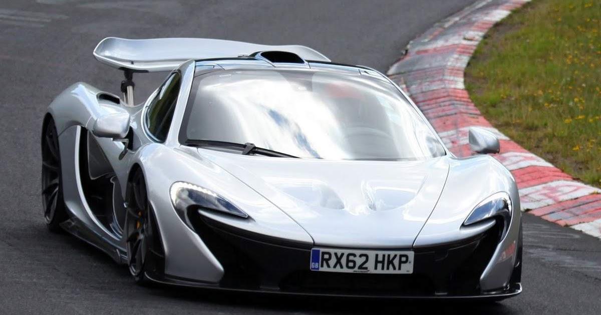 Vídeo: McLaren P1 faz Nurburgring em menos de 7 minutos