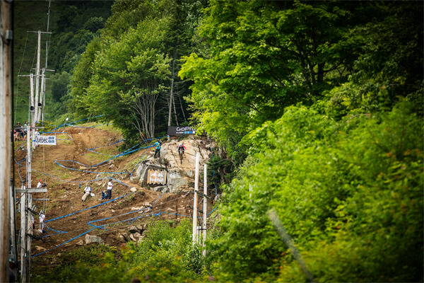 2015 Mont Sainte Anne UCI World Cup Downhill: Track View