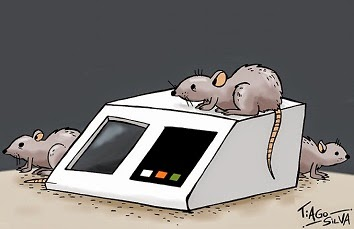 Tiago Silva: Rats in the voting machine.