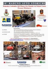 18° Raduno Auto Storiche Fiorano