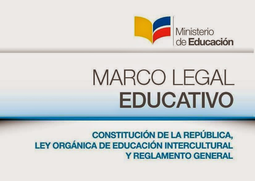 MARCO LEGAL EDUCATIVO ~ PARVULARIAS DEL ECUADOR