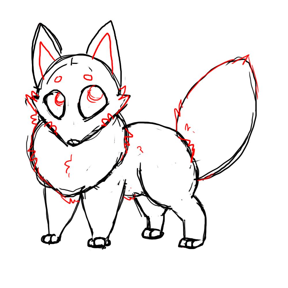 how to draw fur anime