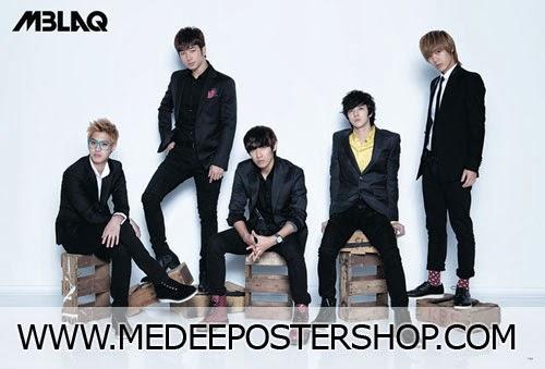 MBLAQ 2013 Poster