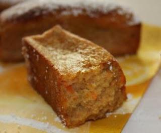 Torta de zanahoria y naranja