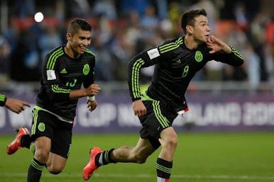 México vence a Uruguay Mundial Sub 20