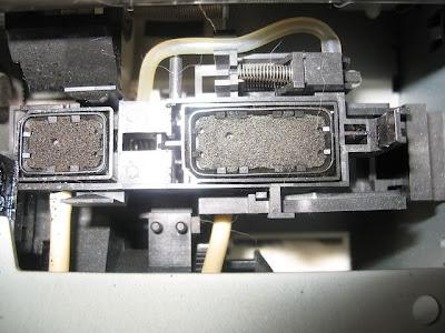 limpieza de cabezal de impresión