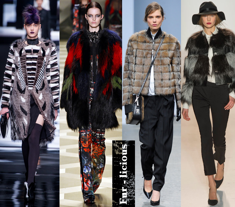Women's Fall 2013/2014 Trends- Fur Coats