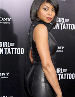 Taraji P Henson @ The Girl With The Dragon Tattoo New York Premiere