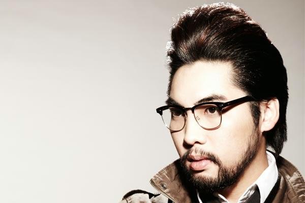 asian hipster hair