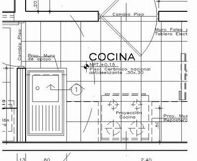Dibujo tecnico detalles arquitectonicos for Que es un plano arquitectonico