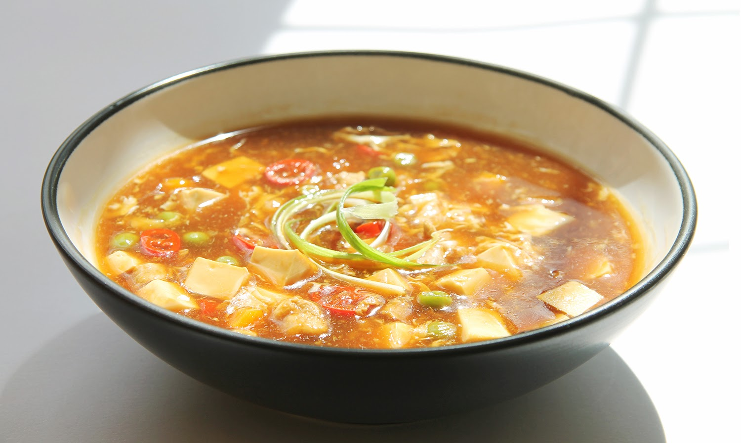 Watch the Hot and Sour Soup Recipe Video*