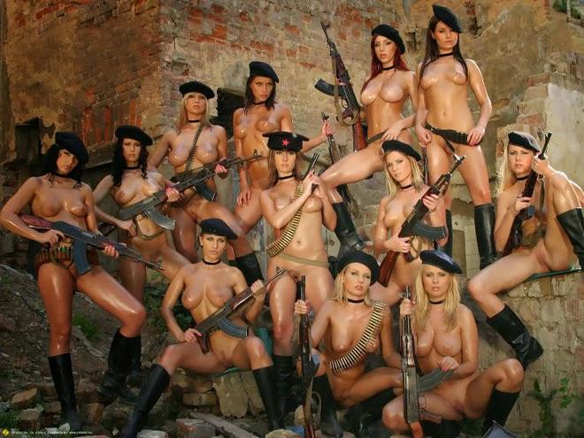 Chicas de armas tomar