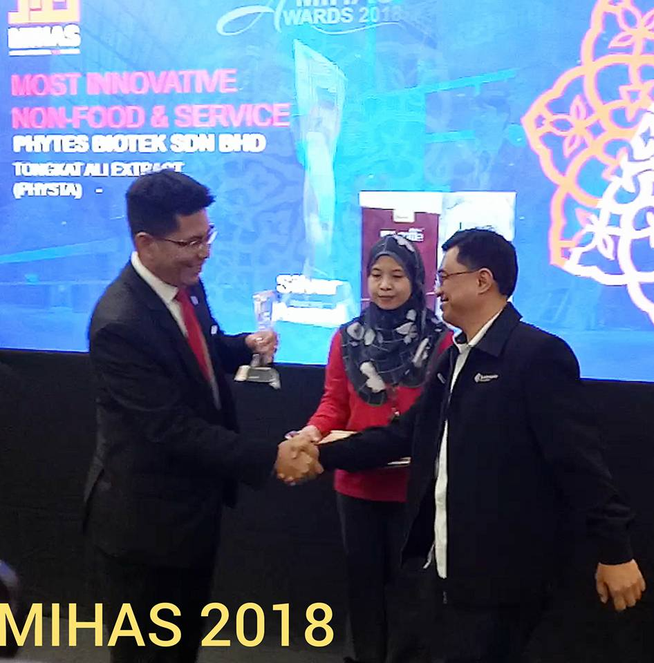 Silver Award Recipient. MIHAS 2018.
